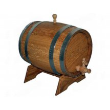 Дубовая бочка для вина и коньяка на 20 л