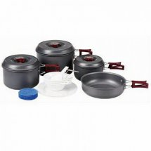 Набор посуды BULin 4-5 перс. из анодированного алюминия BL200-C5