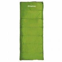 Спальный мешок King Camp Oxygen +8C, правый, green