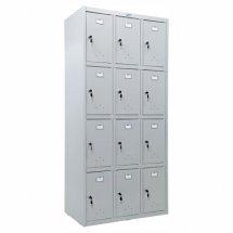 Шкаф металлический для сумок Практик LS-34
