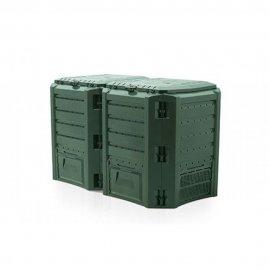 Компостер садовый модульный Compogreen 800Л (Зелёный)