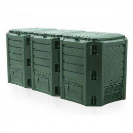 Компостер садовый модульный зеленый Compogreen 1200Л