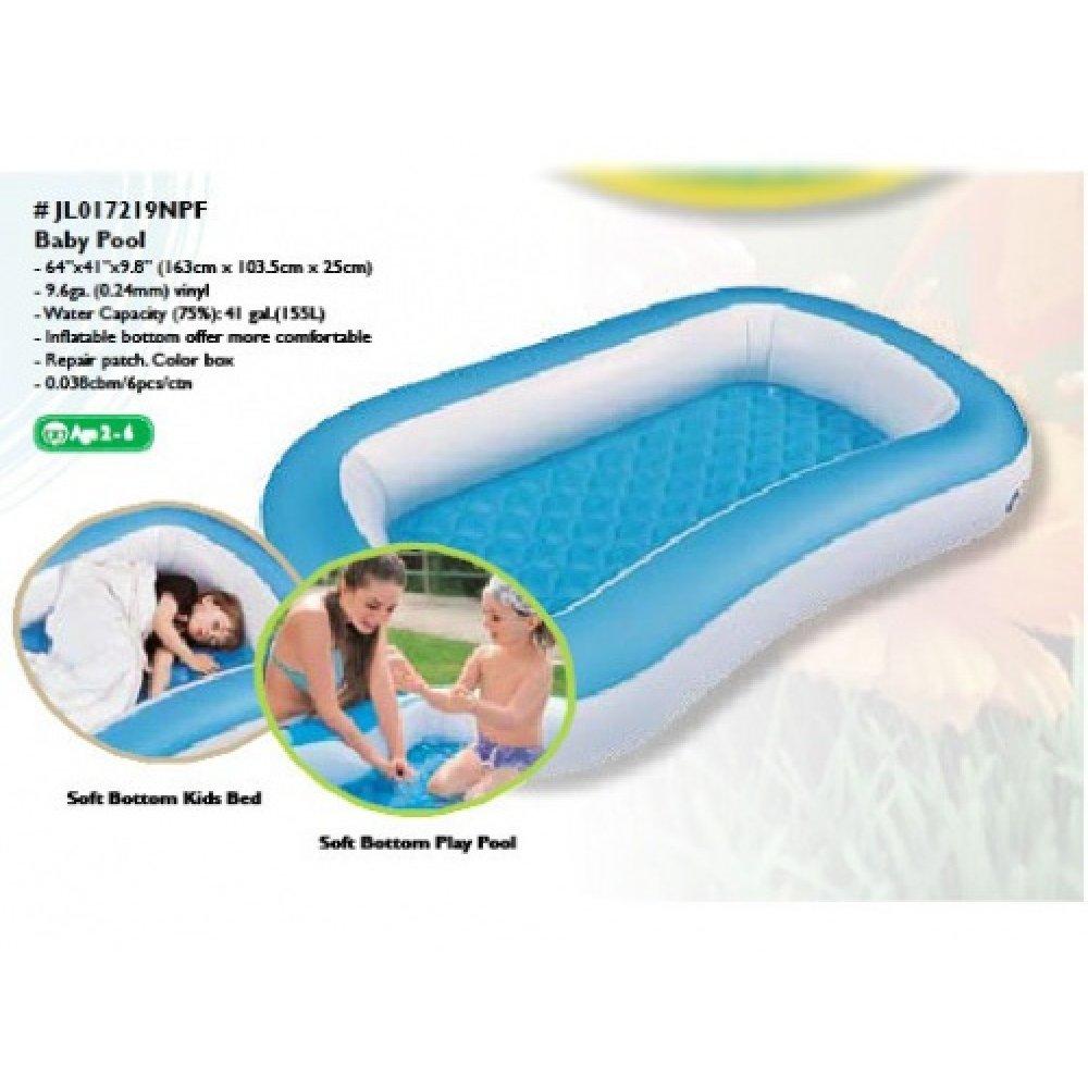 Бассейн надувной для малышей 17219 (155 л)